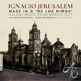 """IGNACIO JERUSALEM MASS IN G """"DE LOS NIÑOS"""" album cover"""