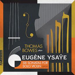 EUGÈNE YSAŸE: SIX SONATAS FOR SOLO VIOLIN album cover